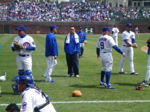 Cubs Players