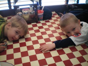 Isaiah and Ezra at Giardano\'s